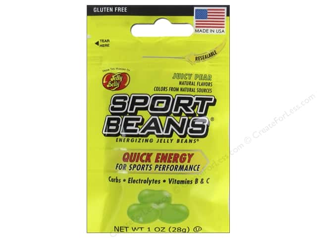 Jelly Belly Sports Beans 1 oz. Juicy Pear