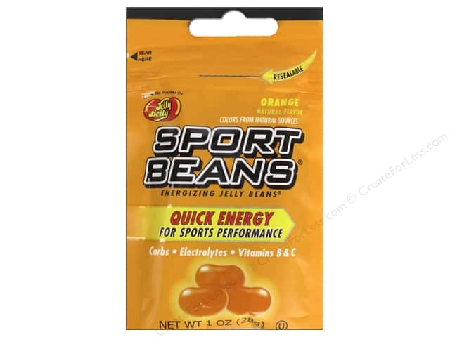 Jelly Belly Sports Beans 1 oz. Orange