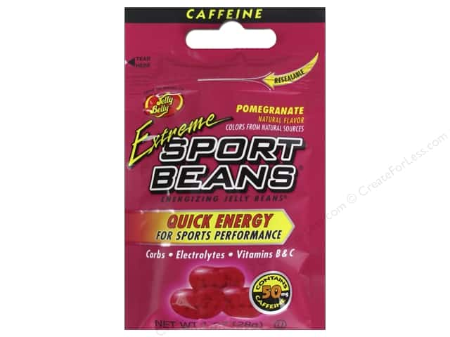 Jelly Belly Sports Beans 1 oz. Extreme Pomegranate