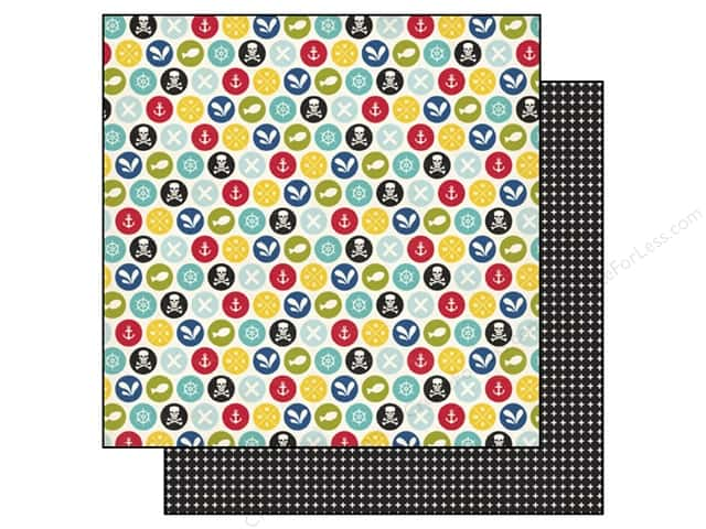 Echo Park 12 x 12 in. Paper Pirates Life Scallywags (25 sheets)