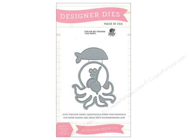 Echo Park Designer Dies Pirates Life Collection Pirate Octopus