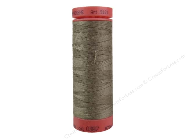 Mettler Metrosene All Purpose Thread 164 yd. #387 Brown Mushroom