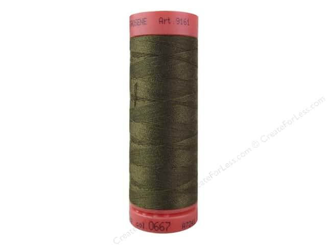 Mettler Metrosene All Purpose Thread 164 yd. #667 Golden Brown