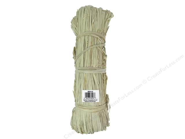 Darice Raffia Bunch Natural 6oz