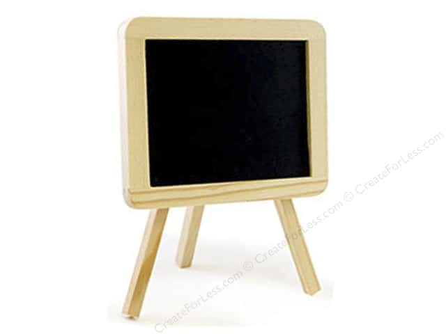 Multicraft Chalkboard Surface Easel Small