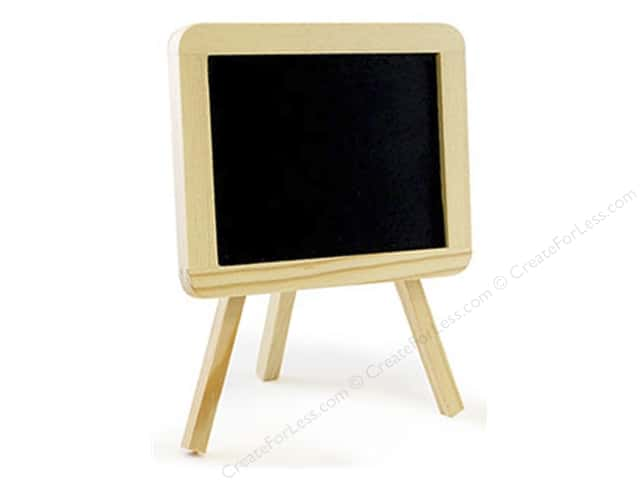 Multicraft Chalkboard Surface Easel Medium