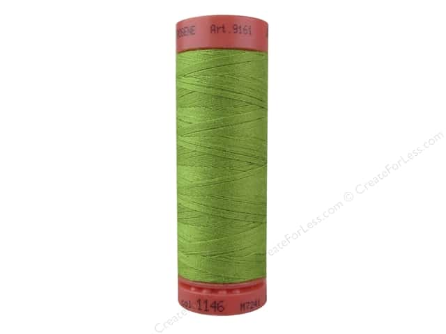 Mettler Metrosene All Purpose Thread 164 yd. #1148 Yellowgreen
