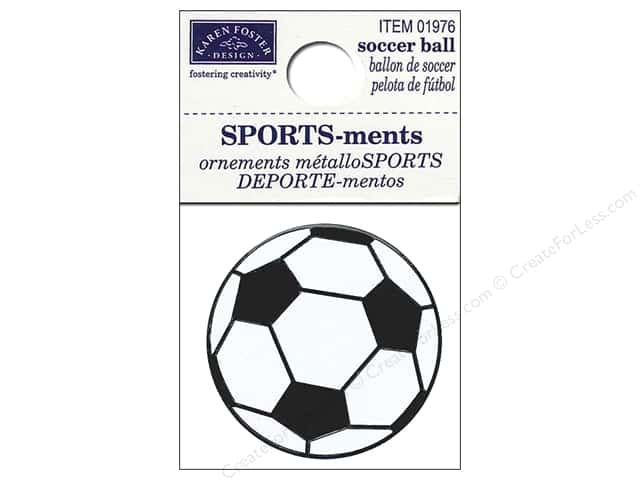 Karen Foster Sticker Sports-ment Soccer Ball