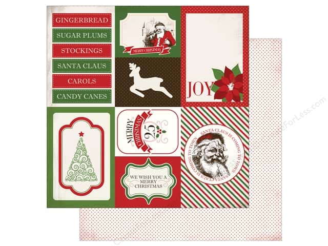 Carta Bella 12 x 12 in. Paper Have A Merry Christmas Journaling Cards (25 sheets)