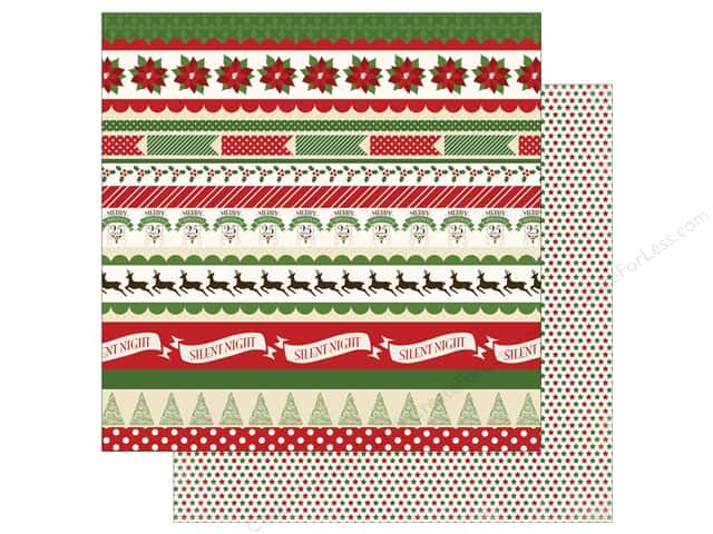 Carta Bella 12 x 12 in. Paper Have A Merry Christmas Borders (25 sheets)