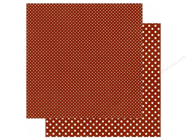 Echo Park 12 x 12 in. Paper Dots & Stripes Fall Collection Brick (25 sheets)