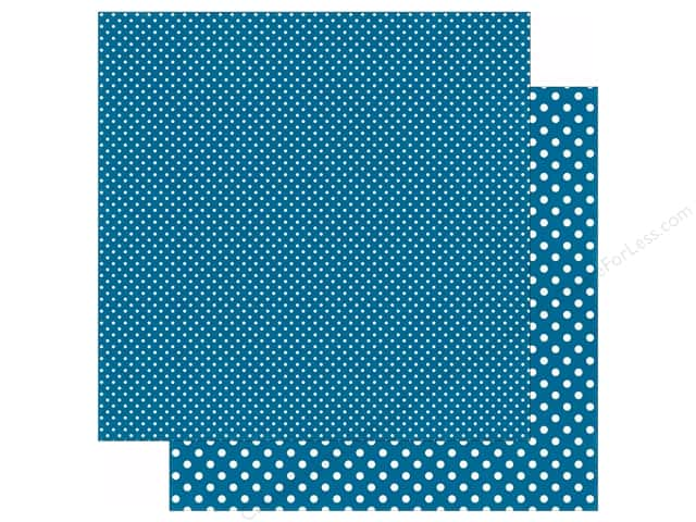 Echo Park 12 x 12 in. Paper Dots & Stripes Winter Collection Arctic (25 sheets)