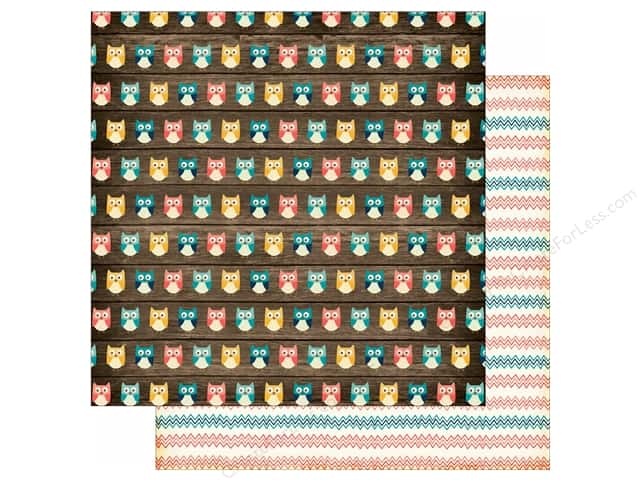 Echo Park 12 x 12 in. Paper Story Of Family Collection Owls (25 sheets)