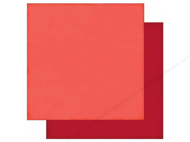 Echo Park 12 x 12 in. Paper Story Of Family Collection Coral/Red (25 sheets)