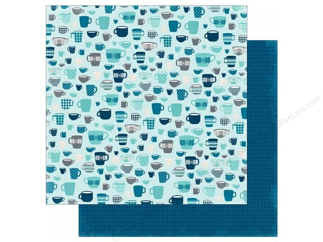 Echo Park 12 x 12 in. Paper Hello Winter Collection Cozy Mugs (25 sheets)