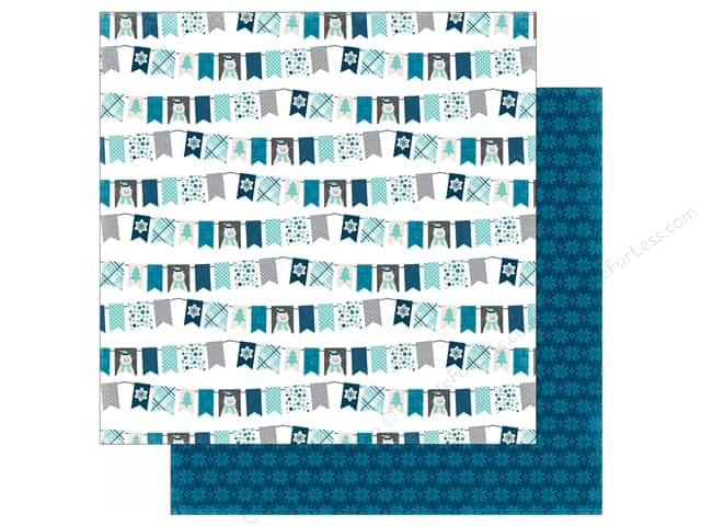 Echo Park 12 x 12 in. Paper Hello Winter Collection Winter Bunting (25 sheets)