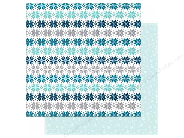 Echo Park 12 x 12 in. Paper Hello Winter Collection Comfy Sweater (25 sheets)