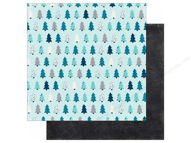Echo Park 12 x 12 in. Paper Hello Winter Collection Winter Pines (25 sheets)