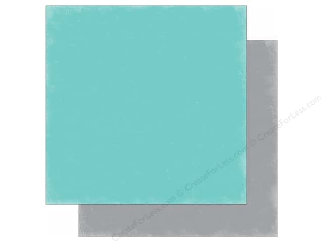 Echo Park 12 x 12 in. Paper Hello Winter Collection Teal/Gray (25 sheets)