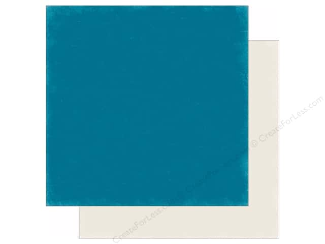 Echo Park 12 x 12 in. Paper Hello Winter Collection Dark Teal/Cream (25 sheets)