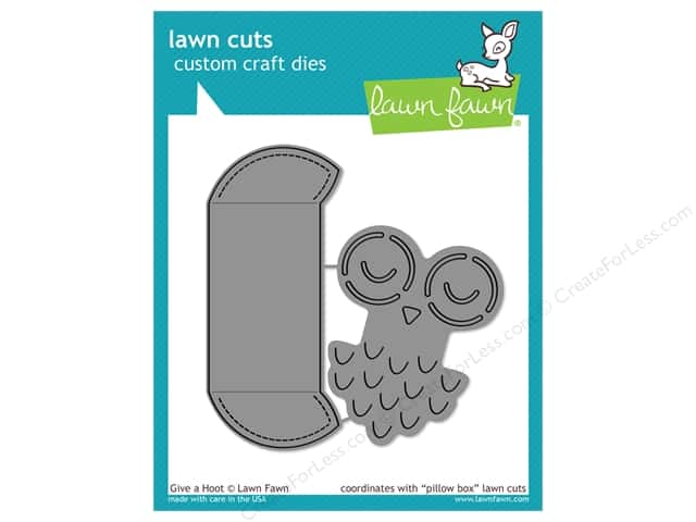 Lawn Fawn Lawn Cuts Die Give A Hoot