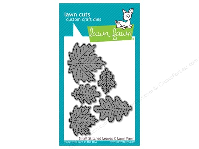 Lawn Fawn Lawn Cuts Die Small Stitched Leaves