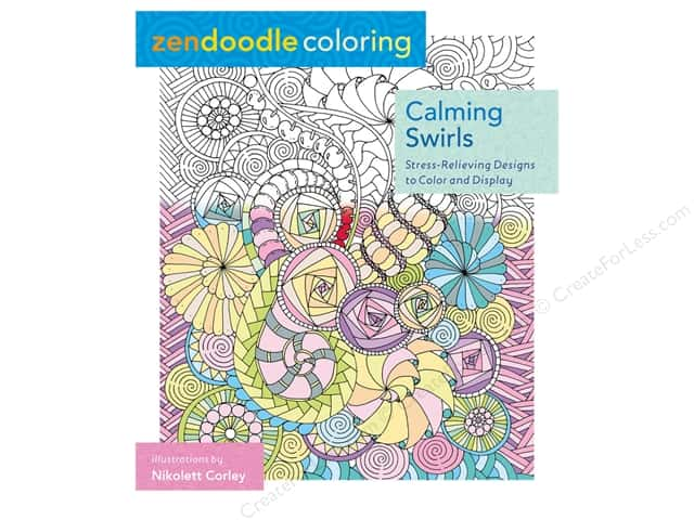 St Martin's Griffin Zendoodle Calming Swirls Book