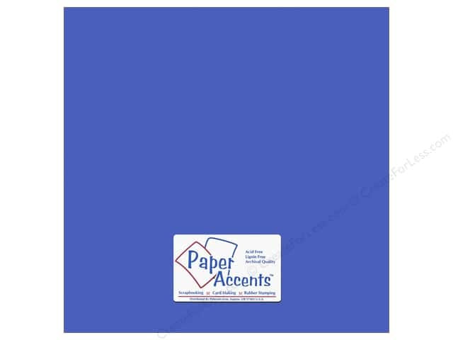 Paper Accents Cardstock 12 x 12 in. Canvas Mosaic Blue (25 sheets)