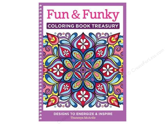 Design Originals Fun & Funky Coloring Book