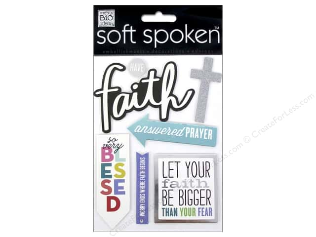 Me & My Big Ideas Soft Spoken Stickers Have Faith