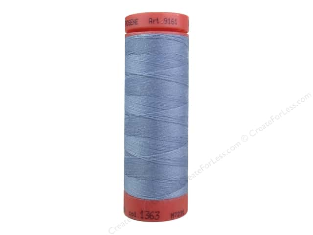 Mettler Metrosene All Purpose Thread 164 yd. #1363 Blue Thistle