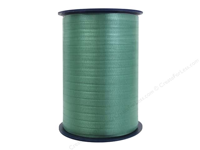 Morex Crimped Curling Ribbon 3/16 in. x 500 yd. Emerald Green