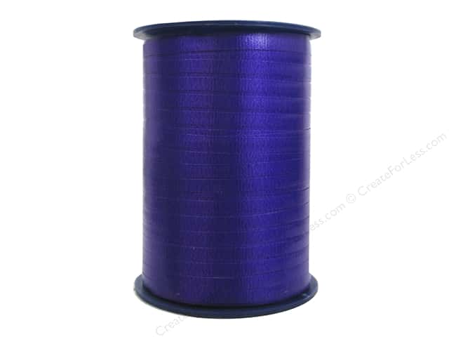 Morex Crimped Curling Ribbon 3/16 in. x 500 yd. Purple