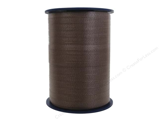 Morex Crimped Curling Ribbon 3/16 in. x 500 yd. Chocolate