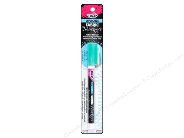 Tulip Fabric Marker Bullet Tip Opaque Teal