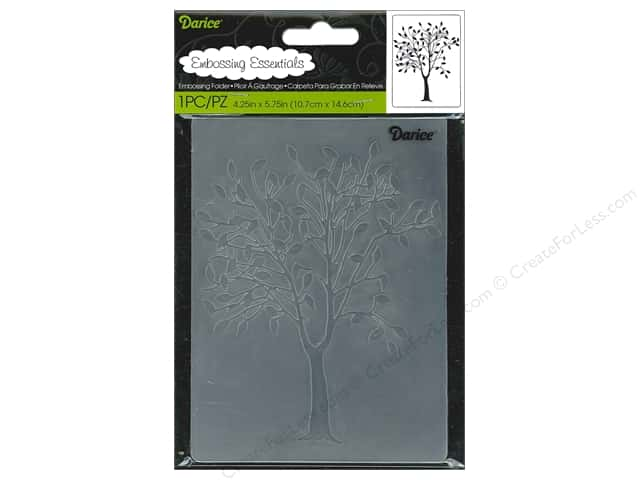 Darice Embossing Folder 4 1/4 x 5 3/4 in. Leafing Tree