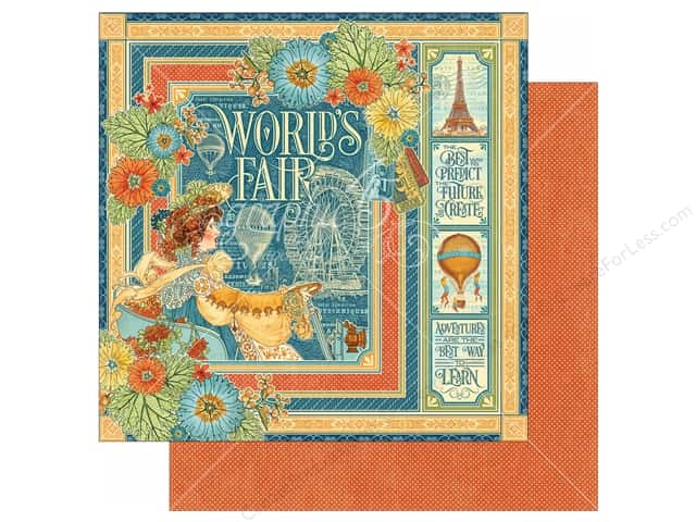 Graphic 45 12 x 12 in. Paper World's Fair (25 sheets)