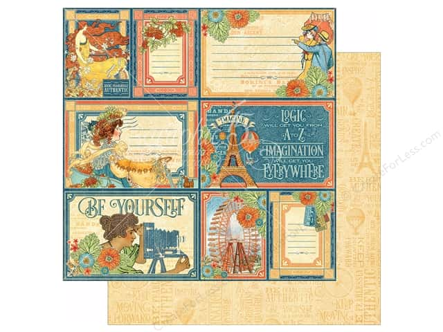 Graphic 45 12 x 12 in. Paper World's Fair Inspiration Station (25 sheets)