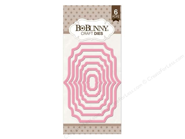Bo Bunny Craft Dies 6 pc. Nested Fancy Frame