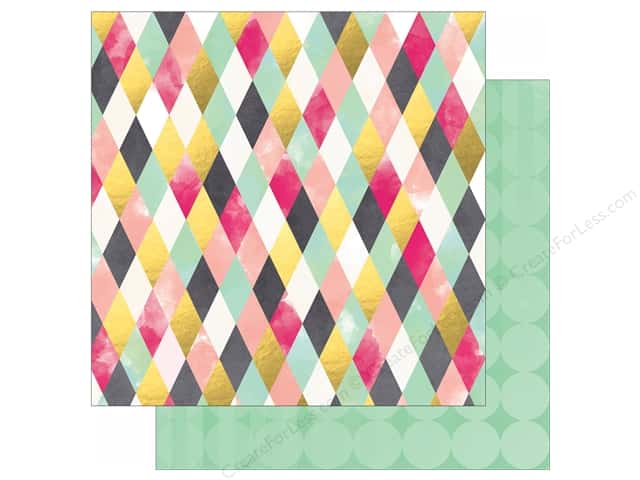 Bo Bunny 12 x 12 in. Paper You're Invited Collection Crepe Paper (25 sheets)
