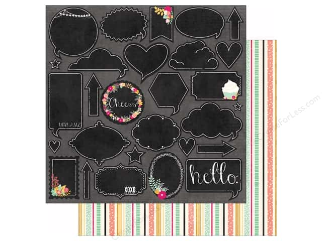 Bo Bunny 12 x 12 in. Paper You're Invited Collection Surprise (25 sheets)