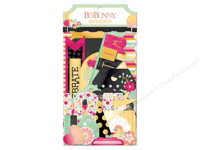 Bo Bunny Noteworthy Journaling Cards You're Invited