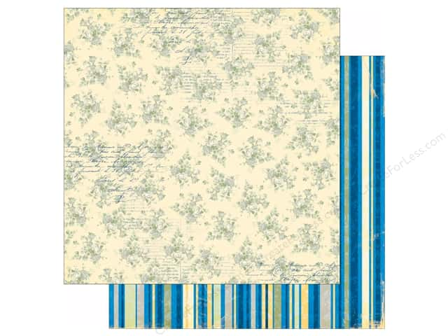 Bo Bunny 12 x 12 in. Paper Genevieve Collection Bouquet (25 sheets)