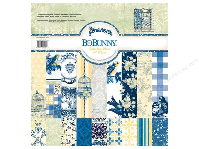 Bo Bunny 12 x 12 in. Collection Pack Genevieve
