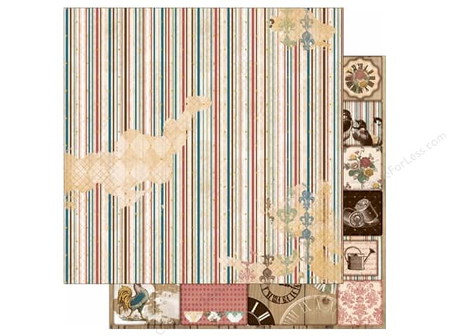 Bo Bunny 12 x 12 in. Paper Provence Collection Aroma (25 sheets)