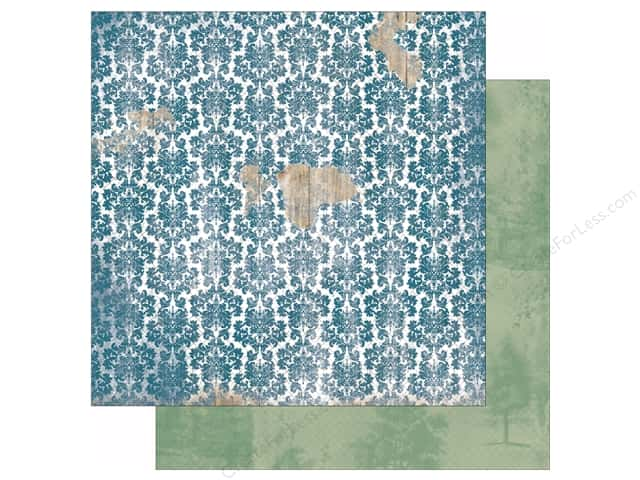 Bo Bunny 12 x 12 in. Paper Provence Collection Breathtaking (25 sheets)