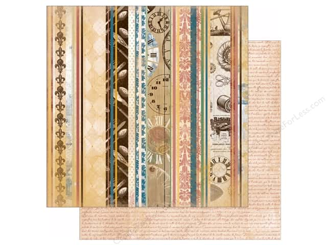 Bo Bunny 12 x 12 in. Paper Provence Collection C'est Chic (25 sheets)