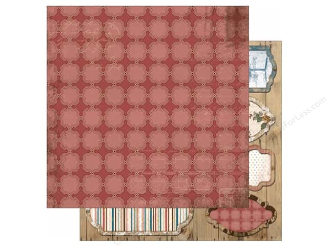 Bo Bunny 12 x 12 in. Paper Provence Collection Elegance (25 sheets)