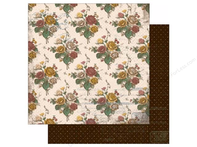 Bo Bunny 12 x 12 in. Paper Provence Collection My Secret Garden (25 sheets)