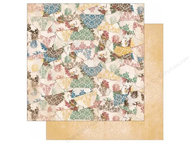 Bo Bunny 12 x 12 in. Paper Provence Collection Porcelain (25 sheets)